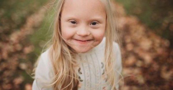6χρονη με σύνδρομο Down πρωταγωνιστεί σε διαφήμιση μεγάλης βρετανικής εταιρίας ρούχων