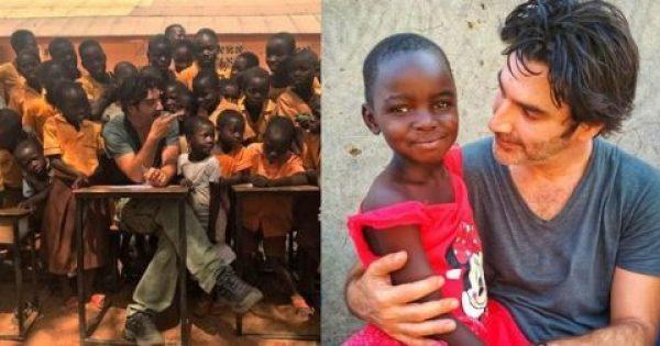 Παπακαλιάτης: «Αυτά που φτιάξαμε με τα παιδιά στην Αφρική δεν περιγράφονται»