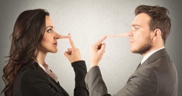 Πώς φαίνεται ότι αυτός που σας μιλάει, λέει ψέματα
