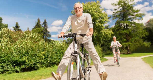 Oγδοντάρηδες με ανοσοποιητικό εικοσάρη χάρη στο ποδήλατο