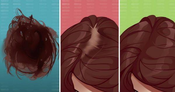 7 απλές χειροποίητες θεραπείες για να έχετε πυκνά και υγιή μαλλιά και για να μειωθεί η τριχόπτωση