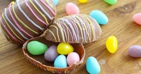 Πώς να φτιάξω σοκολατένια αυγά