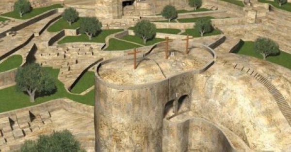 Πως ήταν ο Τάφος του Ιησού Χριστού και ο βράχος του Γολγοθά το 33 μ.Χ.
