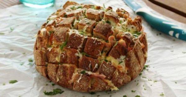 Συνταγή για ένα Ψωμί «τράβα-τσίμπα»