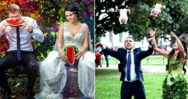40 περίεργες φωτογραφίες γάμων από τη Ρωσία που τα λογία περισσεύουν