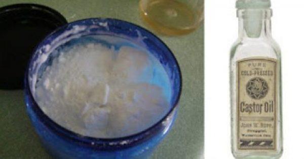 Απίστευτο! Πώς το καστορέλαιο & η μαγειρική σόδα θεραπεύουν 24 προβλήματα υγείας!