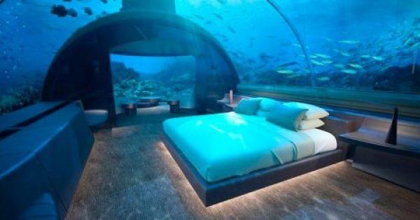 Η πρώτη υποθαλάσσια βίλα θα ανοίξει σε πολυτελές ξενοδοχείο στις Μαλδίβες