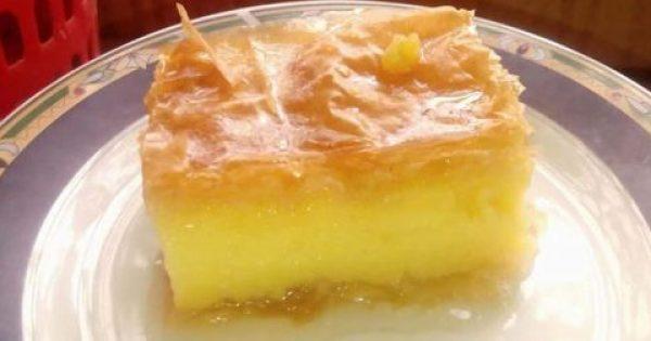 Γαλακτομπούρεκο: Ένα γλυκάκι που μας αρέσει πολύ… όλες τις εποχές!