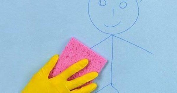 Πώς να καθαρίσετε έναν βρώμικο τοίχο