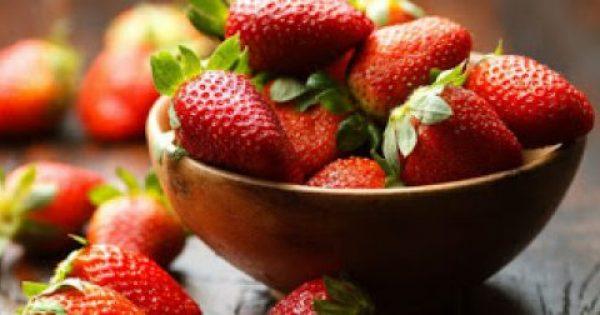 Πέντε λόγοι για να βάλετε τις φράουλες στη διατροφή σας