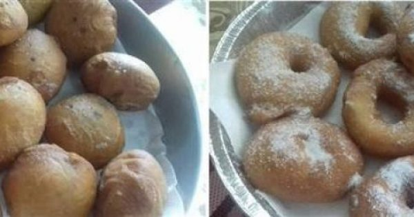 Donuts- Nτόνατς αφρός 100% επιτυχία!!