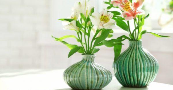 DIY: Φτιάξτε Ένα Σούπερ Διαφορετικό Βάζο με Λεμόνια