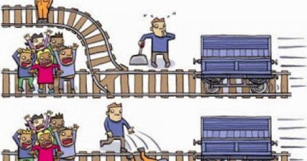 Λύσε το πρόβλημα με το τρένο: Θα σκοτώνατε έναν άνθρωπο για να σώσετε πέντε; [photo]
