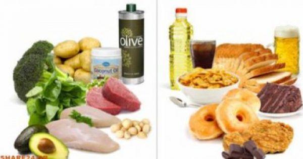 Σταματήστε να Τρώτε Αυτές τις 5 Τροφές & με Ποιες να τις Αντικαταστήσετε