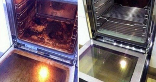 Καθαρίστε τον φούρνο σας εύκολα και γρήγορα με αυτή την καταπληκτική συνταγή!