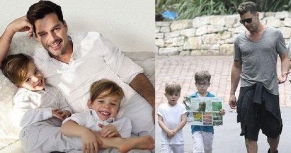 Ο Ρίκι Μάρτιν δήλωσε ότι εύχεται οι δύο γιοι του να είναι ομοφυλόφιλοι