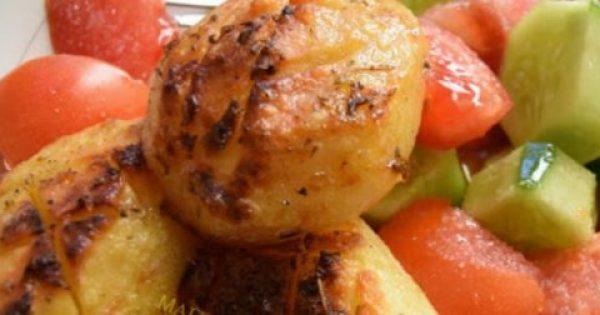 Πατάτες στο φούρνο λουκούμι