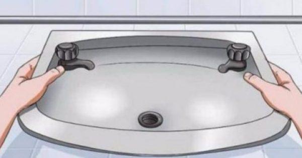 Το κόλπο που θα ξεβουλώσει τα σιφόνια του μπάνιου από τις τρίχες και θα σε γλιτώσει από τα έξοδα του υδραυλικού