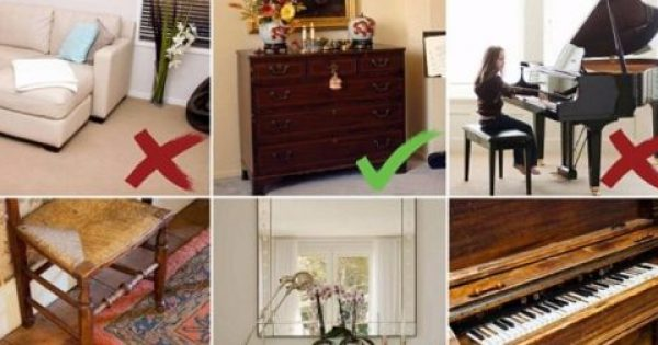 Οι Διακοσμητές Αποκαλύπτουν… 10 Αντικείμενα που Δεν πρέπει να Έχουμε στα Σπίτια μας