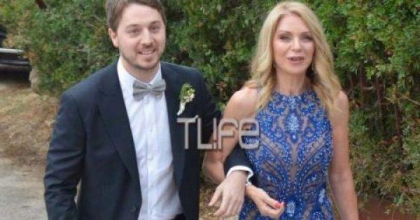 Οι πρώτες φωτογραφίες από το γάμο του γιου της 'Ελλης Στάη