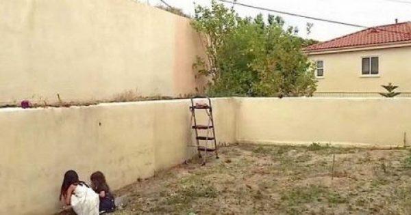 Η μητέρα άφησε τις κόρες της στον άντρα της και έφυγε ταξίδι. Όταν επέστρεψε έπαθε σοκ με αυτό που είδε στην αυλή!