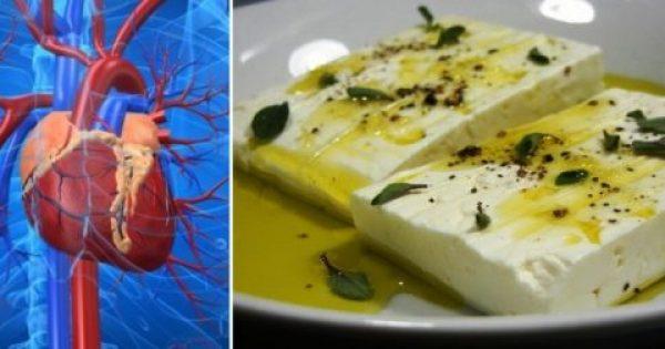Τι Εκπληκτικό συμβαίνει στην Καρδιά αν τρώτε τυρί κάθε Mέρα