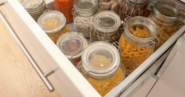 Η έξυπνη αποθήκευση στην κουζίνα είναι το παν!