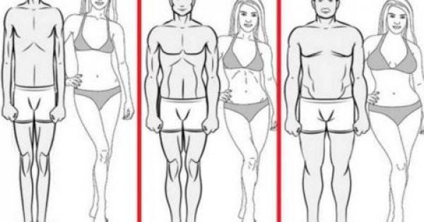 Ο τύπος του σώματός σας δείχνει ΤΙ θα πρέπει να τρώτε για να χάσετε γρήγορα βάρος