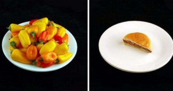 Δείτε Πως είναι οι 200 θερμίδες σε 30 Φαγητά που Καταναλώνουμε Καθημερινά