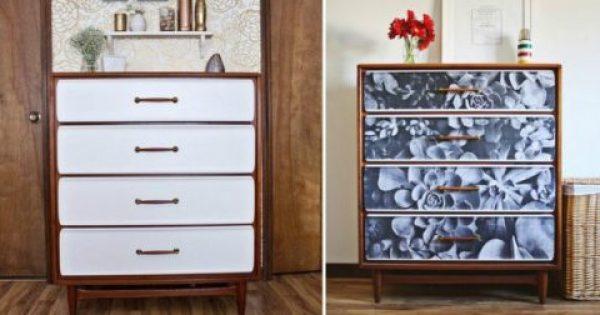 Μεταμορφώστε τη συρταριέρα της γιαγιάς σε Design έπιπλο
