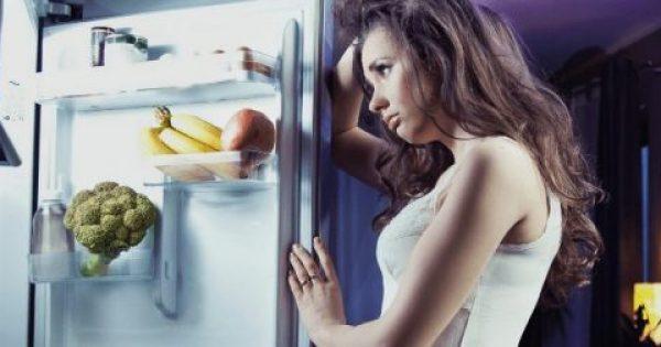 Βραδινή λιγούρα; Να τι μπορείς να φας χωρίς τύψεις