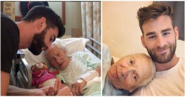 Έμαθε ότι η 89χρονη Γειτόνισσά του κινδύνευε να Πεθάνει και αποφάσισε να της Συμπαρασταθεί με τον Καλύτερο Τρόπο. Δείτε ΤΙ έκανε!