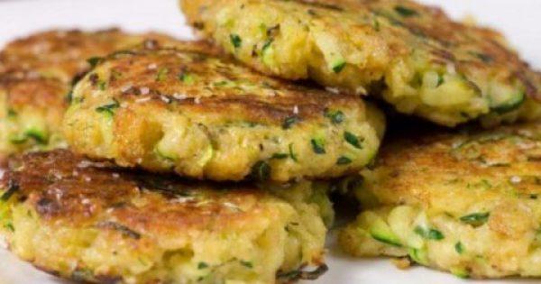 Νόστιμοι κολοκυθοκεφτέδες με πατάτα στο φούρνο