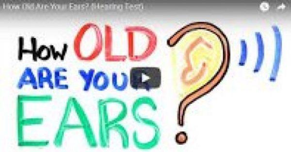 Αυτοτέστ ~ Εάν ακούς αυτούς τους ήχους, διαπιστώνεις την… ηλικία των αυτιών σου +vid