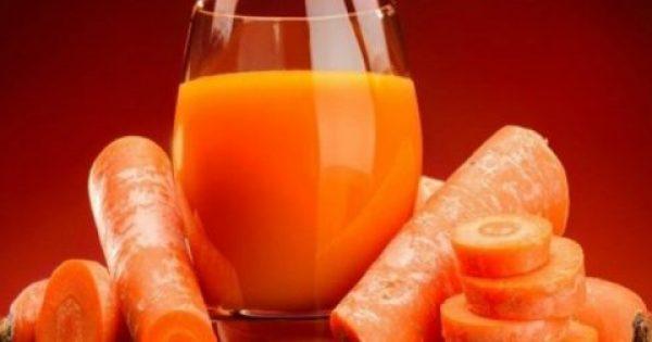 Έπινε χυμό καρότο κάθε μέρα για 8 μήνες: Δείτε την τρομερή αλλαγή!!!