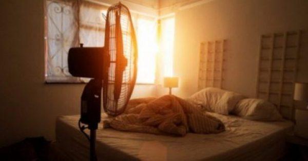 Προσοχή. Γιατί πρέπει να Μην κοιμάστε με τον ανεμιστήρα σε διαρκή λειτουργία – Λόγοι υγείας
