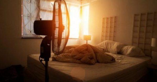 Γιατί πρέπει να μην κοιμάστε με τον ανεμιστήρα σε διαρκή λειτουργία