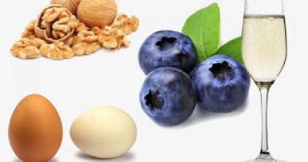 Οι τέσσερεις τροφές που δυναμώνουν τον εγκέφαλο. Τι λένε οι έρευνες ;