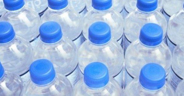 Είδατε στο πλαστικό μπουκάλι νερού τριγωνικό σύμβολο;