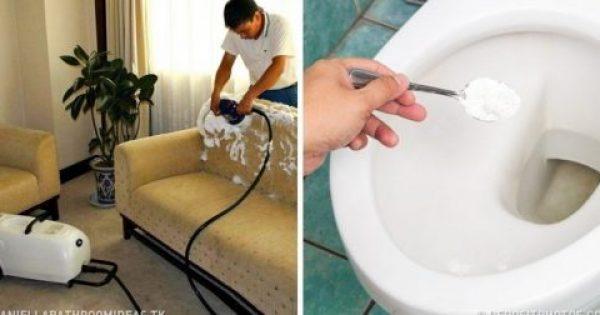 20 Έξυπνα Κόλπα Καθαρισμού που θα σας Γλυτώσουν Πολύ Χρόνο και Χρήμα!