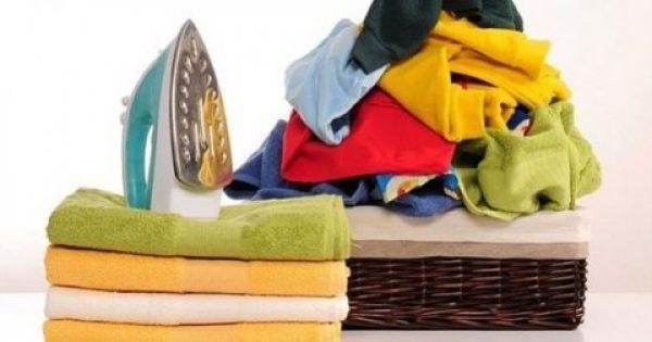 5 τρόποι να σιδερώσετε τα ρούχα σας χωρίς… σίδερο!