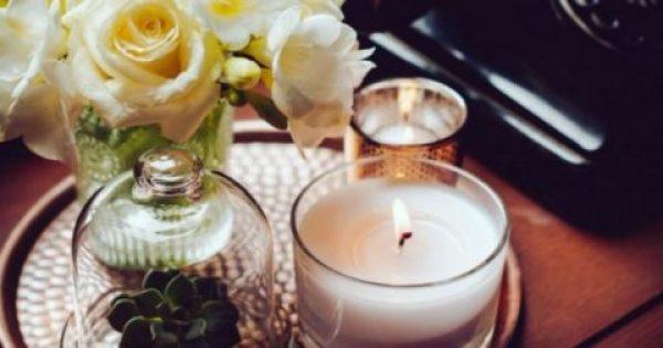 Το τεράστιο λάθος που κάνεις όταν ανάβεις κεριά στο σπίτι σου