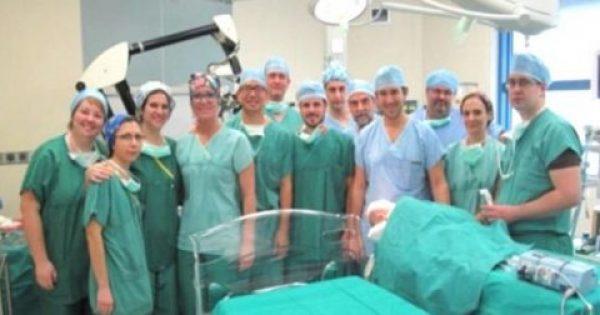 Συγχαρητήρια στο ΙΑΣΩ Παίδων: Αφαίρεσαν όγκο από τον εγκέφαλο βρέφους 5 μηνών