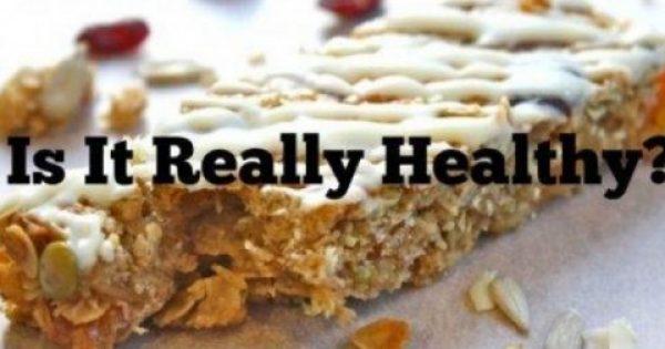 Αυτές είναι οι 10 τροφές που νομίζουμε ότι είναι υγιεινές αλλά δεν είναι
