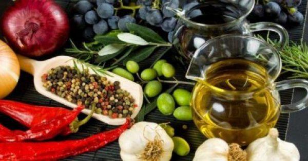 Η μεσογειακή διατροφή αποτρέπει το εγκεφαλικό επεισόδιο