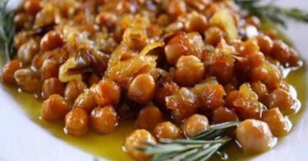 Συνταγή για τα πιο νόστιμα ρεβύθια στο φούρνο