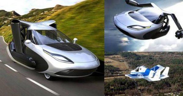 Aρχίζουν οι προπαραγγελίες για το πρώτο ιπτάμενο αυτοκίνητο του κόσμου τον Οκτώβριο