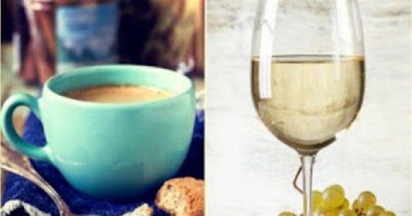 Κάνεις δίαιτα; Πιες ένα ποτήρι καφέ ή κρασί παραπάνω.