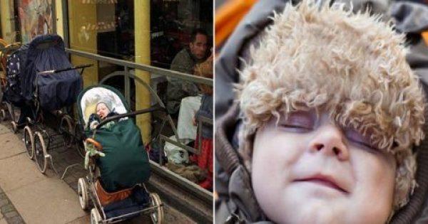 Γιατί οι Βόρειοι αφήνουν έξω στο πολικό κρύο τα καρότσια με τα μωρά;