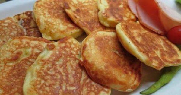 Αφράτες και ελαφριές τηγανίτες γιαουρτιού, ζεστές ή κρύες όπως και να τις φας είναι φανταστικές!!!